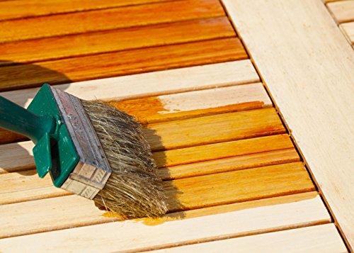 10L Holzlasur Farbig für Gartenmöbel, Holzmöbel, Holzöl Holzschutzlasur Leinöl Lasur Holzfarbe Holzanstrich Holzschutz Holzpflege