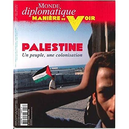 Manière de Voir N 157 Palestine Fevrier/Mars 2018