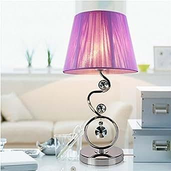 Aluk lampe de chevet de cristal cr ative jane yue lasi for Lampe de chevet cristal