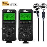Pixel 2PCS Wireless Shutter Trasmettitore Timer Trasmettitore Telecomando 2.4GHZ per Nikon D800 D700 D300 D2S D800 D7500 D4 D7100 D5000 D3200 D750(versione aggiornata di TW283)