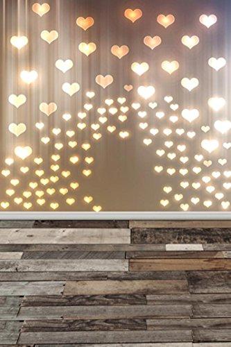 Fotografie Hintergrund Liebhaber Traumhafte Glitter Haloes Fotografie Hintergrund Studio Requisiten Hintergrund 3x5FT (B) (Baby Fotoshooting Hintergrund)