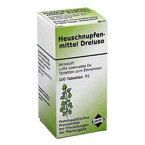 HEUSCHNUPFENMITTEL Dreluso Tabletten 100 St Tabletten