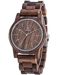 orologio di legno amazon