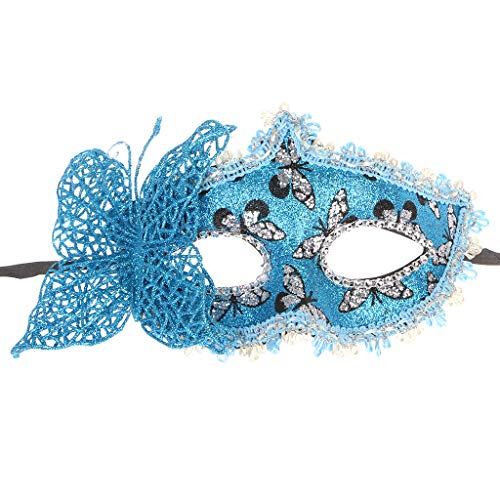 (Gjyia Modische Schmetterling Bogen Maske Halbmaske Für Mädchen Frauen Maskerade Tanzen)