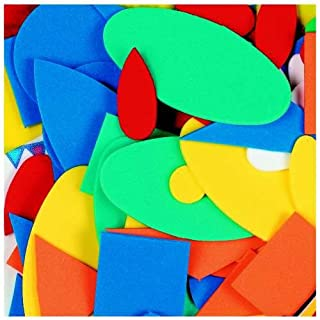 Pack of Assorted Craft Foam Shapes