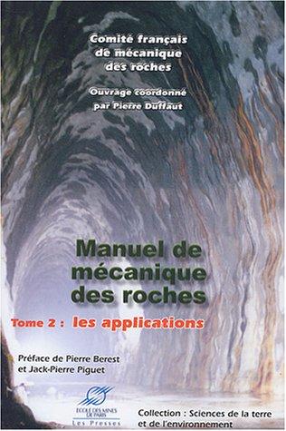 Manuel de mécanique des roches - Tome 2...