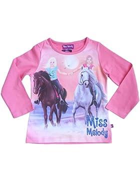 Miss Melody Mädchen Langarmshirt Pferde 84013