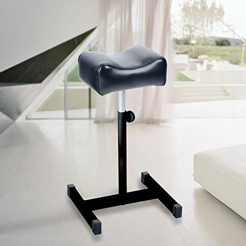 acefox-foot-rest-stool-telescopic-adjustable-leg-support-chair-for-pedicure-manicure-black