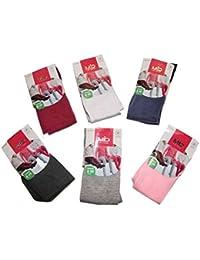 Pierre-cedric Lot de 3 Collants Fille Uni Chaud Touché Laine 80% Coton  Confortable d710ff0a566