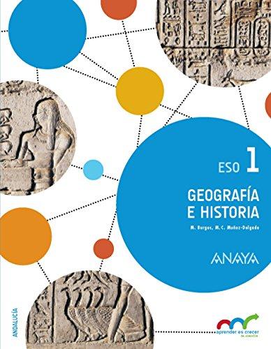 Geografía e Historia 1. (Colegios Bilingües) (Aprender es crecer en conexión) - 9788467851311 por Manuel Burgos Alonso
