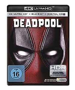 Deadpool (4K Ultra HD) (+ Blu-ray): Ryan Reynolds, Morena Baccarin, T.J. Miller, Gina Carano, Ed Skrein, Tim Miller