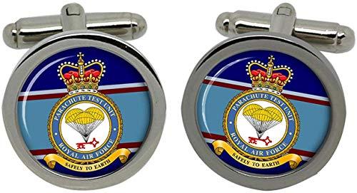 Gift Shop Fallschirm Test Einheit, RAF Manschettenknöpfe in Box