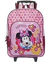 Disney Minnie Girls Schoolbag - pink