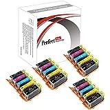 20 PerfectPrint Compatible PGI-550 / CLI-551 Ink Cartridges For Canon Pixma iP7250 iP8750 iX6850 MG5450 MG5550 MG6350 MG6450 MG7150 MX725 MX925