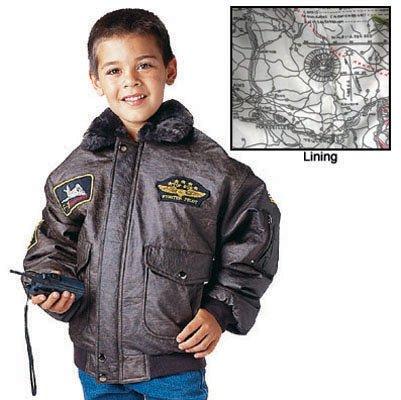 Rothco Kids WWII Aviator Flight Jacket Aviator Kids Flight Jacket