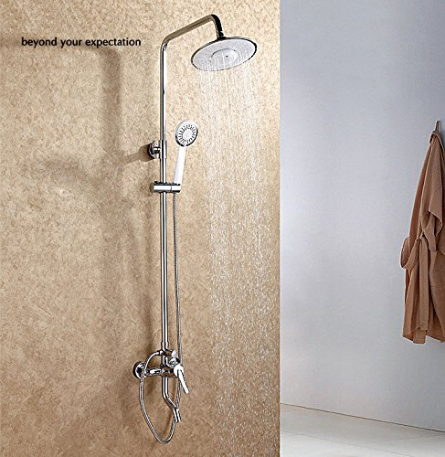 Preisvergleich Produktbild Bazaar Multifunktionale Bluetooth Musik Regen und Handbrause Kopf Set