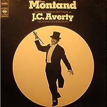 YVES MONTAND Montand de mon temps J.C. AVERTY LP 1974 CBS EX++