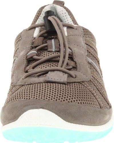 Ecco Flow Toggle Low Cut Synthétique Chaussure de Course Warm Grey-Warm Grey