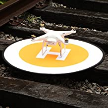 "Mekingstudio 75cm 30"" Pista de Aterrizaje Landing Pad Universal Portátil Plegable para RC Drone Dron Helicopter DJI Mavic Pro, Phantom 2 3 4 4 Pro, Inspire 1 2, 3DR Solo, GoPro Karma, Parrot, Antel Robotic y Más"