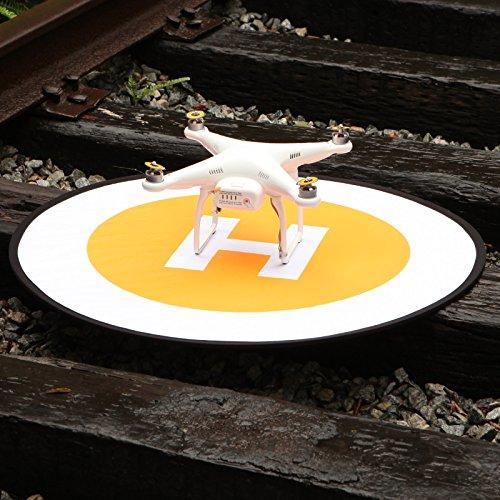 Mekingstudio 75cm Pista de Aterrizaje Landing Pad Universal Portátil Plegable para RC Drone Helicopter dji Mavic Pro, Phantom, Inspire, 3DR Solo, GoPro Karma, Parrot, Antel Robotic