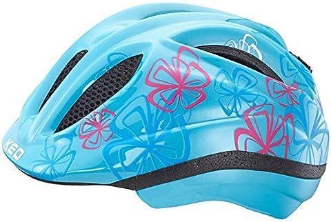 KED Meggy Trend Helmet Kids Lightblue Flower Kopfumfang 52-58 cm 2017 mountainbike helm downhill