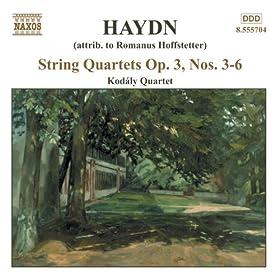 Haydn: String Quartets Op. 3, Nos. 3 - 6