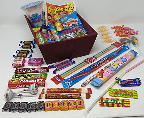 Retro Low Calorie Sweets - Hamper - Gift - Snack Box. Your Favourite Old School Sweets All Low Calorie - Slimming World and Weight Watchers/ Diet Friendly