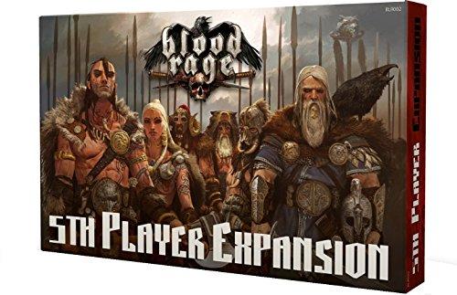 Blood Rage 5th Player Expansion - English, French, German, Italian, Polish, Spanish