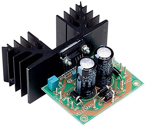 Velleman K4003 - Amplificador de audio (2.0 canales, 30 W, 0,07%, 98 dB, 15 W, 10 W)