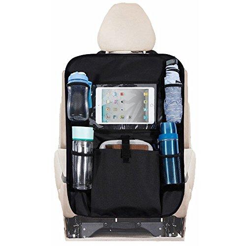 Rovtop Portaoggetti Auto Sedile Organizer Bagagliaio con Tasca, Proteggi Sedile per Auto per Bamb