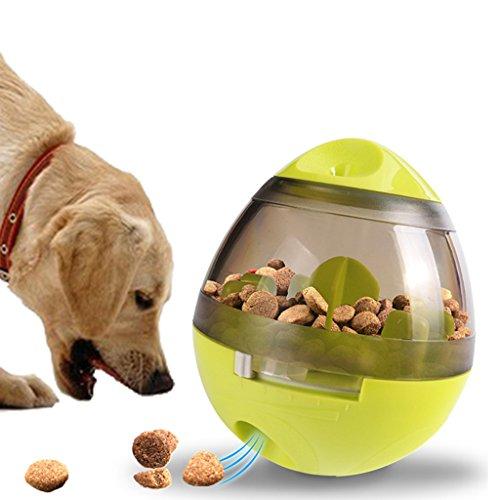 Hund Behandeln Ball Spielzeug Becher Haustier Essen Ball Interaktiv Hund Essen Ball Erhöht Sich IQ Behandle Ball Zum Training Spielen Kauen. Cacoffay (Interaktives Spielzeug Behandeln)