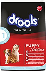 Drools Chicken and Vegetable Puppy Food, 400 g