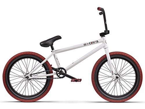WETHEPEOPLE CRYSIS 2016 BMX RAD   FREE COASTER/MATT WHITE | BLANCO | 20 5