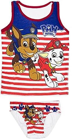 Nickelodeon Paw Patrol Kids Underwear Set (4/5 Years, Stripes)
