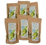 KULAU Bio-Trockenalgen Meersalat - getrocknete Meersalat-Flocken, 6er Pack (6 x 25 g)