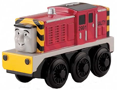 Fisher-Price Thomas the Train Wooden Railway Battery-Operated Salty