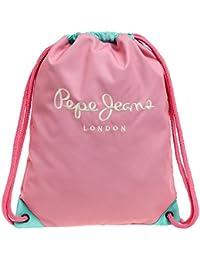 Pepe Jeans Bicolor Mochila Tipo Casual, 0.77 Litros, Color Rosa