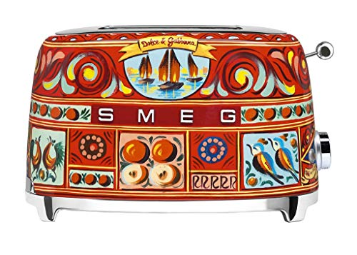 SMEG 50\'s Retro Style 2 Scheiben-Toaster TSF01 dolce&gabbana