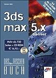 3ds max 5.x. Das bhv Taschenbuch. Mit CD-ROM