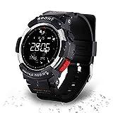 DTNO.I Sportuhr, Fitness-Tracker zum Laufen, Schwimmen und Radfahren, Aktivitäts-Tracker mit Pulsmesser, IP68 Wasserdichte Smartwatch für Männer, Frauen und Kinder