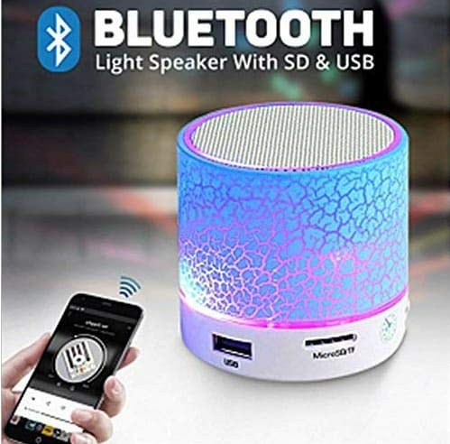 GENERIC S10 Lightening Bluetooth Speaker, Pen Drive/Memory Card/FM CONNECTIVITY