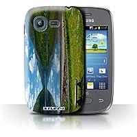 Custodia/Cover/Caso/Cassa Rigide/Prottetiva STUFF4 stampata con il disegno Paesaggi Scozzesi per Samsung Galaxy Pocket Neo/S5310 - Loch/Da Banco