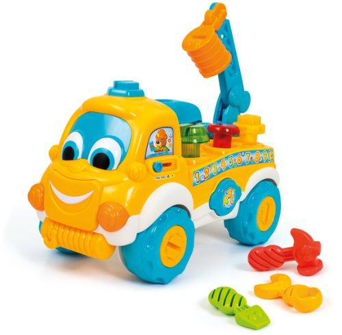 Clementoni - 62600.7 - Jouet de Premier Age - Carter le Camion Bricoleur