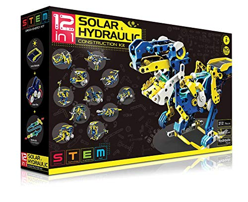 The Source Wholesale 71510 Solar-Roboter, Dinosaurier-Roboter, 12-in-1