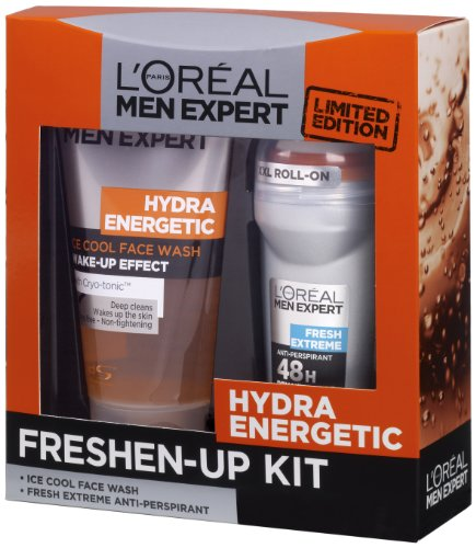 L'Oreal Paris Men Expert Limited Edition Hydra Energetic Freshen-Up Kit (Hydrating Kit)