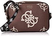GUESS Womens Handbag, Taupe/Multicolour - SO669112