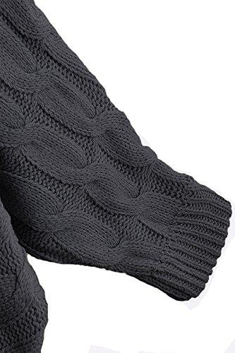 YOINS Damen Pullover Dark Gery