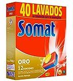 Somat Oro Pastillas Lavavajillas 40 Dosis