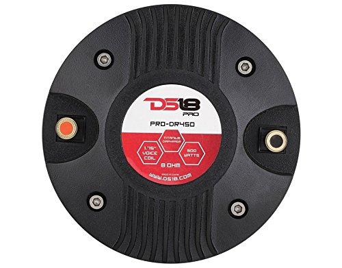 Preisvergleich Produktbild DS18pro-dr4504,4° cm große Hochtemperatur-KAPTON-Schwingspule Hochtöner Treiber 400Watt max POWER, Set 1