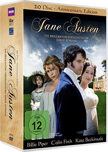 Jane Austen: Die brillanten Verfilmungen ihrer Romane (20 DVDs)